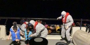İzmir'de 30 düzensiz göçmen kurtarıldı