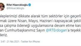 TOBB Başkanı Hisarcıklıoğlu'ndan Cumhurbaşkanı Erdoğan'a teşekkür