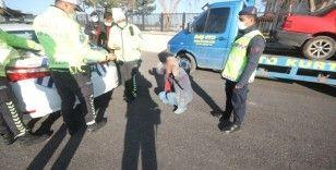 Konya'da 6. kez alkollü yakalanan sürücü 6,72 promilli çıktı