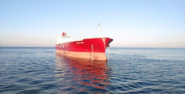 Marmara Denizi'nde arıza yapan LPG tankeri kurtarıldı