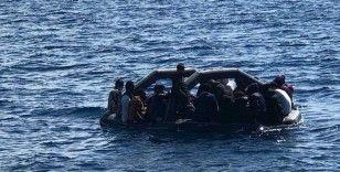 Yunanistan unsurlarınca geri itilen 36 düzensiz göçmen kurtarıldı