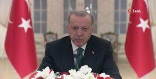 Cumhurbaşkanı Erdoğan, İklim Liderler Zirvesi Programı'nda konuştu