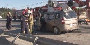Arnavutköy-Sultangazi yolunda feci kaza: 1 ölü, 10 yaralı