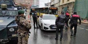 İstanbul'da 76 noktada 'Yeditepe Huzur' asayiş uygulaması