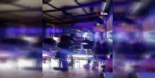 Taksim'de kısıtlamada gece kulüplerine baskın kamerada: 93 bin 663 lira ceza
