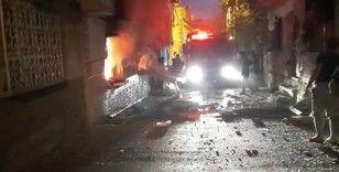Gaziantep'te doğalgaz bomba gibi patladı: 3 yaralı
