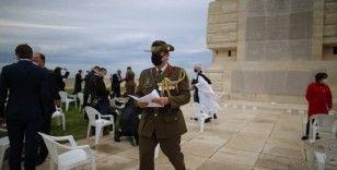 İngiliz Helles Anıtı'nda tören