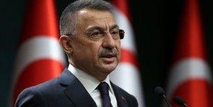 Cumhurbaşkanı Yardımcısı Oktay, babası vefat eden KKTC Cumhurbaşkanı Tatar'a başsağlığı diledi