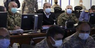 Bakan Akar: Pençe-Şimşek ve Pençe-Yıldırım operasyonlarında 31 terörist etkisiz hale getirildi