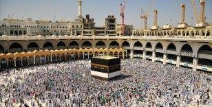 Ramazan ayının ilk on gününde Mescid-i Haram'ı umre ve namaz için 1,5 milyon kişi ziyaret etti