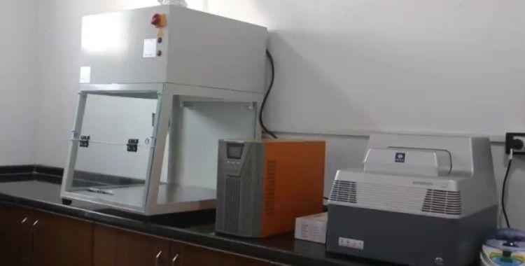 Suriye'de ilk koronavirüs test merkezi açıldı
