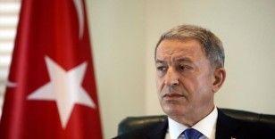 Bakan Akar, telekonferans yöntemiyle toplantı yaptı