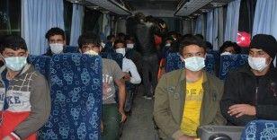 Siverek'te yabancı uyruklu kaçak göçmenler yakalandı