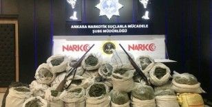 Ankara'da bir haftada gerçekleştirilen narkotik operasyonlarında 30 kişi tutuklandı