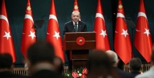 Cumhurbaşkanı Erdoğan: Biden, mesnetsiz, haksız, hakikatlere aykırı ifadeler kullanmıştır