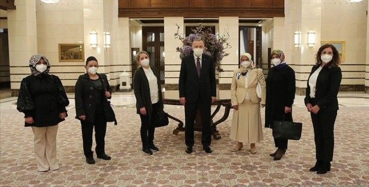 Cumhurbaşkanı Erdoğan esnafla bir araya geldi