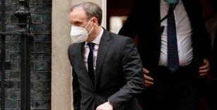 İngiltere Dışişleri Bakanı Raab, Kıbrıs konferansının müzakerelerin yeniden başlamasına fırsat sunduğunu belirtti