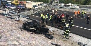 Yeşil plakalı otomobilde feci kaza: 3 ölü, 1 ağır yaralı