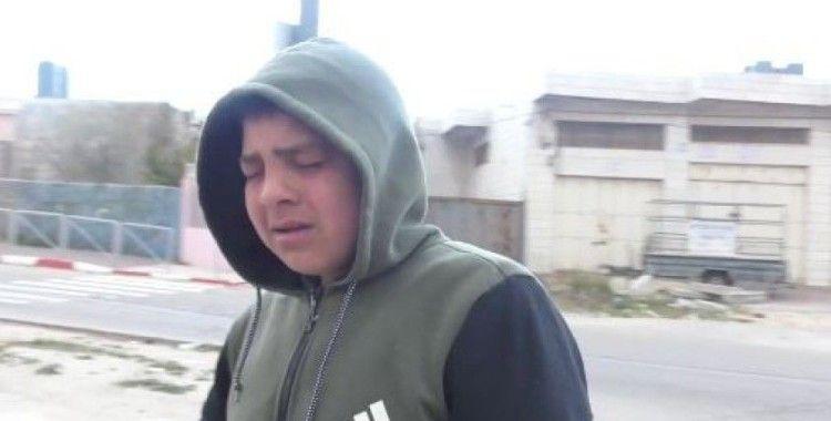 İsrail güçleri 13 yaşında çocuğa biber gazıyla saldırdı