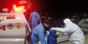 Yunan'ın ölüme terk ettiği 61 düzensiz göçmen kurtarıldı