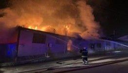 Kastamonu'da yangın: 4 ev kül oldu
