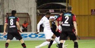 Süper Lig: A. Hatayspor: 1 - Gençlerbirliği: 0 (İlk yarı)