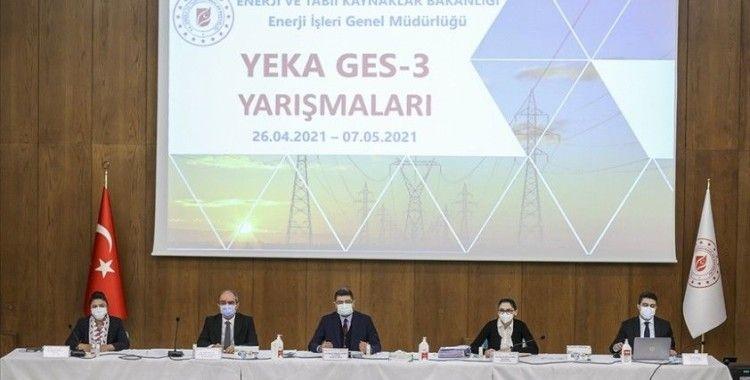 Güneş mini YEKA yarışmalarında iki günde 130 megavat kapasite tahsis edildi