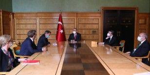 Bakan Çavuşoğlu, Uluslararası Kızılhaç Komitesi Başkanı Maurer ile görüştü