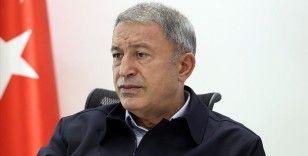 Milli Savunma Bakanı Akar, şehit Uzman Onbaşı Gökçe için taziye mesajı yayımladı