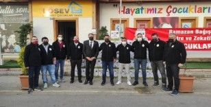 Galatasaray taraftarlarından LÖSEV'e yardım