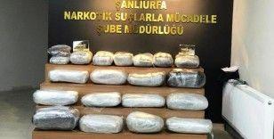 Şanlıurfa'da 15 ayda uyuşturucudan bin 68 zanlı tutuklandı
