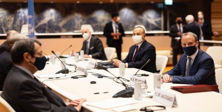 """İngiltere Dışişleri Bakanı Raab: """"Kıbrıs toplantıları sonucunda ortak zemin henüz yok"""""""