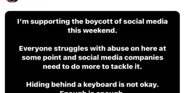 Spor dünyasından sosyal nefrete sosyal tepki