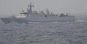 TCG Heybeliada gemisi Endonezya'nın kayıp denizaltısı için 'KRI Nanggala Dua Edin' çağrısı yaptı