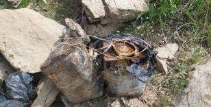 Bitlis'te 90 kilo amonyum nitratla güçlendirilmiş EYP ele geçirildi
