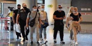 Ukraynalı turist kafilesi Muğla'ya geldi