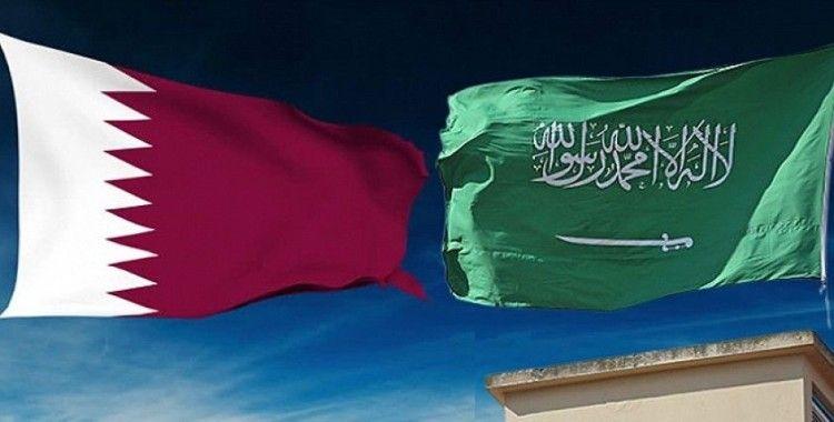Katar Emiri Temim ile Suudi Arabistan Devlet Bakanı, 'ikili ilişkilerin güçlendirilmesi'ni görüştü