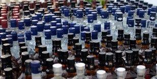Kırklareli'nde 550 litre kaçak içki ele geçirildi