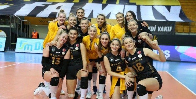VakıfBank, Şampiyonlar Ligi'nde rekor için sahada