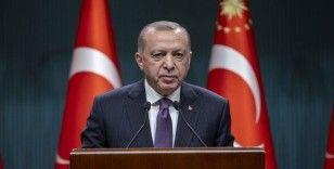 Cumhurbaşkanı Erdoğan: Kısıtlamaları dikkate alarak hak kayıplarının önüne geçecek önemli düzenlemeler yapıyoruz