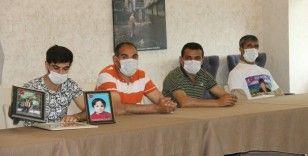HDP önündeki aileler, tam kapanma nedeniyle oturma eylemlerine kaldıkları otelde devam etti