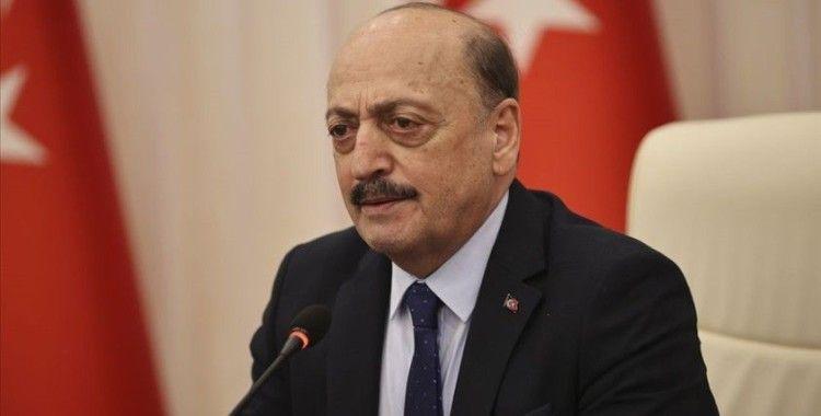 Çalışma ve Sosyal Güvenlik Bakanı Bilgin: Salgın sonrasında 1 Mayıslarda yine meydanlarda olacağız