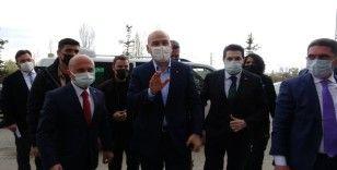İçişleri Bakanı Soylu Ağrı'da
