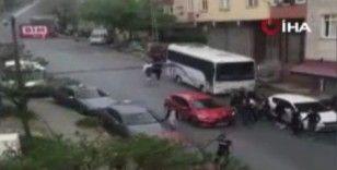 Yabancı uyruklu iki grup arasında bıçaklı kavga: 2 yaralı