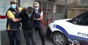 Otogarda 5 kilo patlayıcı ile yakalanan şüpheliler sağlık kontrolünden geçirildi