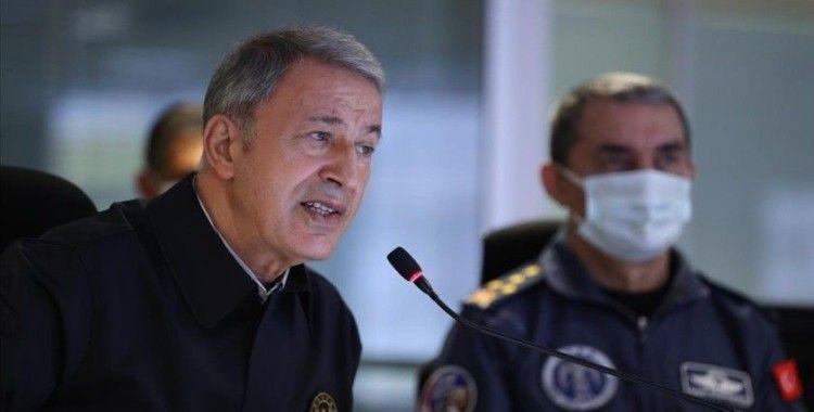 Milli Savunma Bakanı Akar: Pençe-Şimşek ve Pençe-Yıldırım operasyonlarında 7 terörist daha etkisiz hale getirildi