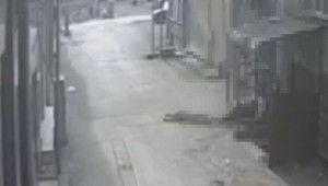 Caraskal koptu, Genç adam 5.kattan böyle düştü