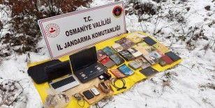 PKK'nın sığınağında patlayıcı ve yaşam malzemesi ele geçirildi