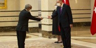 Cumhurbaşkanı Erdoğan, Etiyopya Büyükelçisini kabul etti