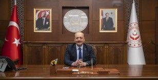 """Çalışma ve Sosyal Güvenlik Bakanı Bilgin: """"Ölümlü iş kazası oranı yüzde 41 azalmıştır"""""""